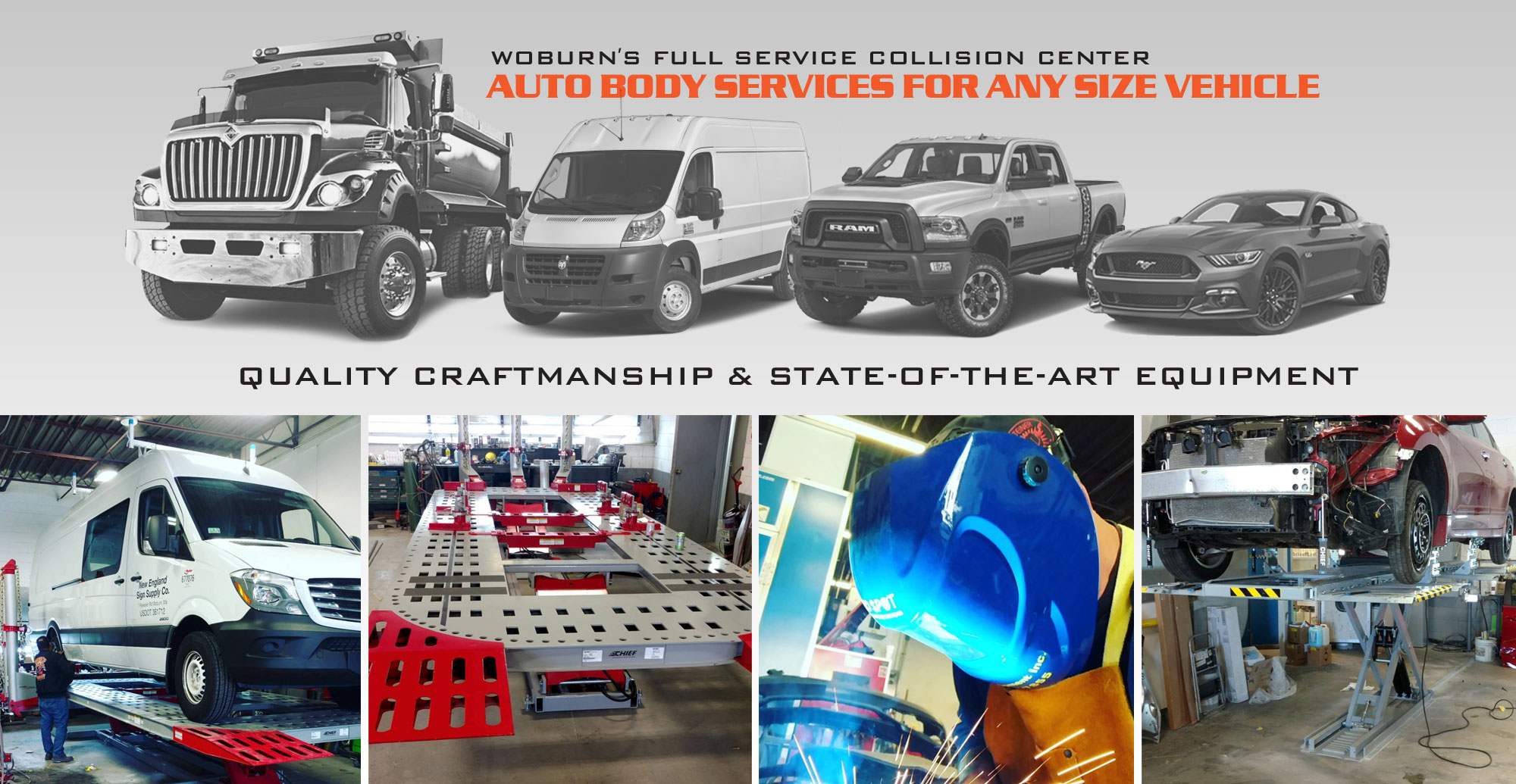 Woburn's Full Service Collision Center